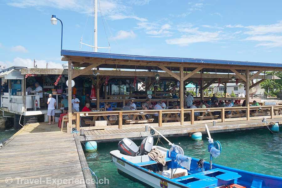 Karibik, Aruba, Restaurant Zerover