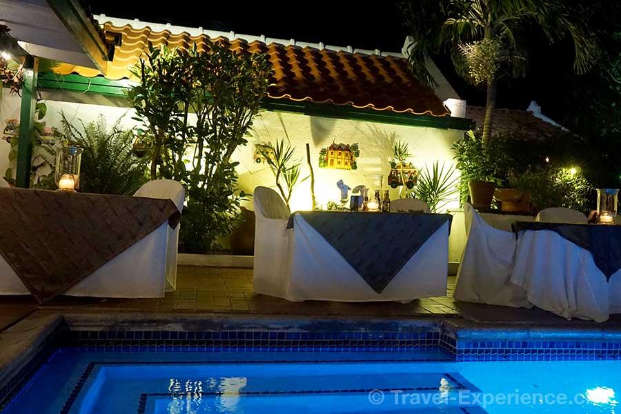 Karibik, Aruba, Restaurant Papiamento