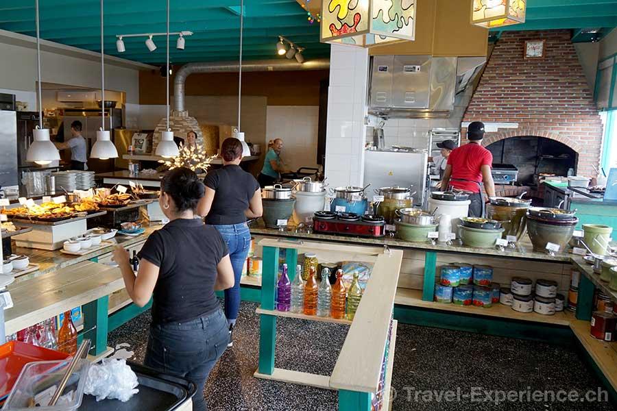 Karibik, Aruba, Restaurant The Kitchen