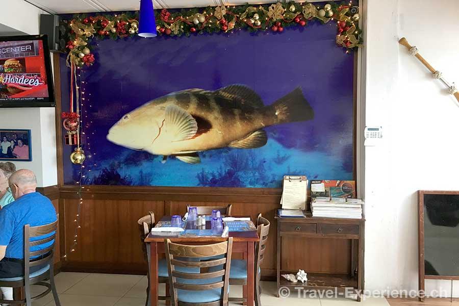 Karibik, Aruba, Restaurant The Old Fisherman