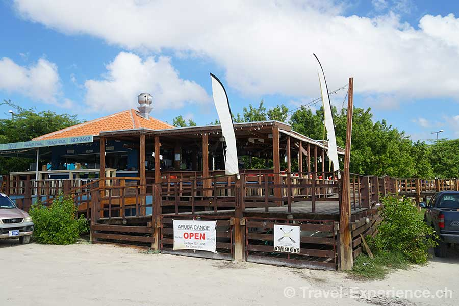 Karibik, Aruba, Restaurant The West Deck