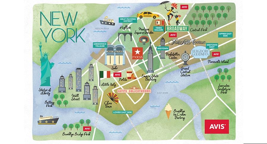 Central Park, New York, USA, Avis