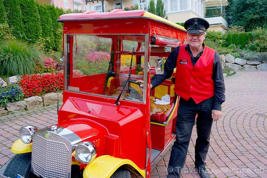Badenweiler, Esel, Chauffeur