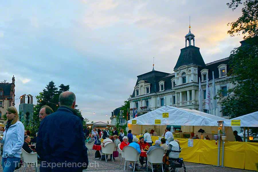 Badenweiler, Musik- und Weinfest, Schlossplatz