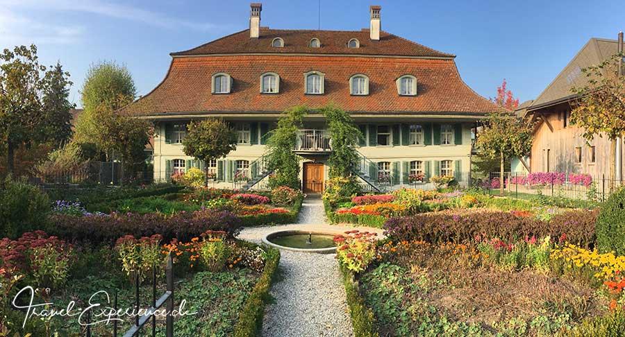 Hotel Baeren, Duerrenroth, historisch, Gaestehaus Kreuz, Bauerngarten