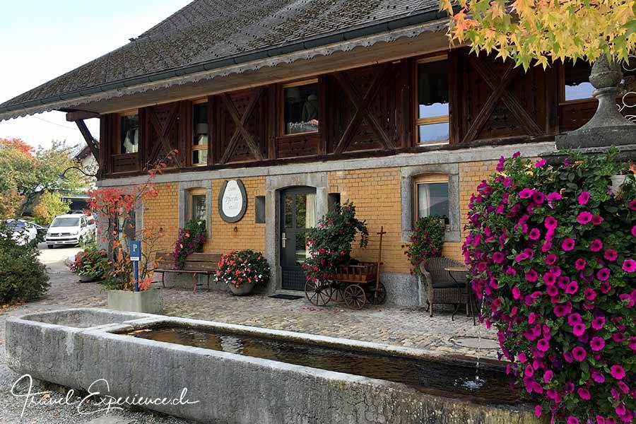 Hotel Baeren, Duerrenroth, historisch, Pferdestall, Brunnen, Pferdewechselstation