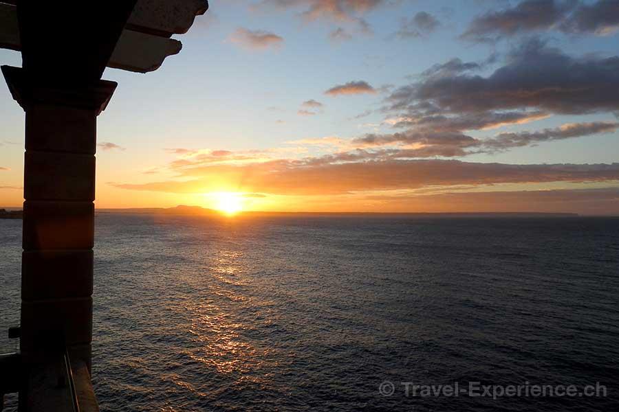 Spanien, Mallorca, Barcelo Illetas Albatros, Sonnenaufgang
