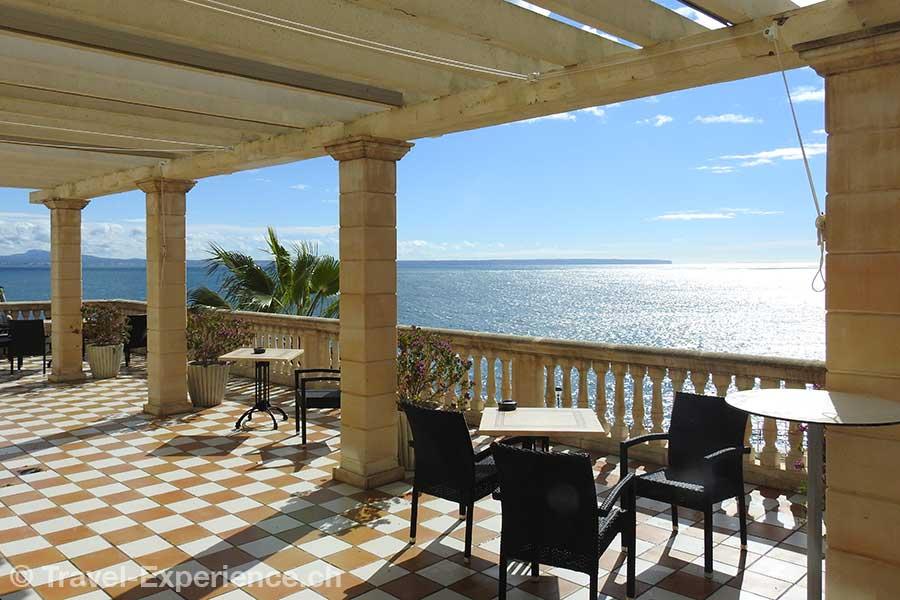 Spanien, Mallorca, Barcelo Illetas Albatros, Terrasse