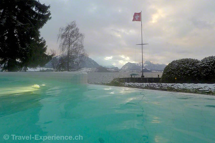 Merligen, Wellness Spa Hotel Beatus, Solbad, Thunersee