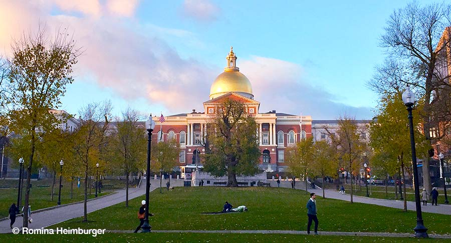 Boston, Massachusetts, New State House, Capitol