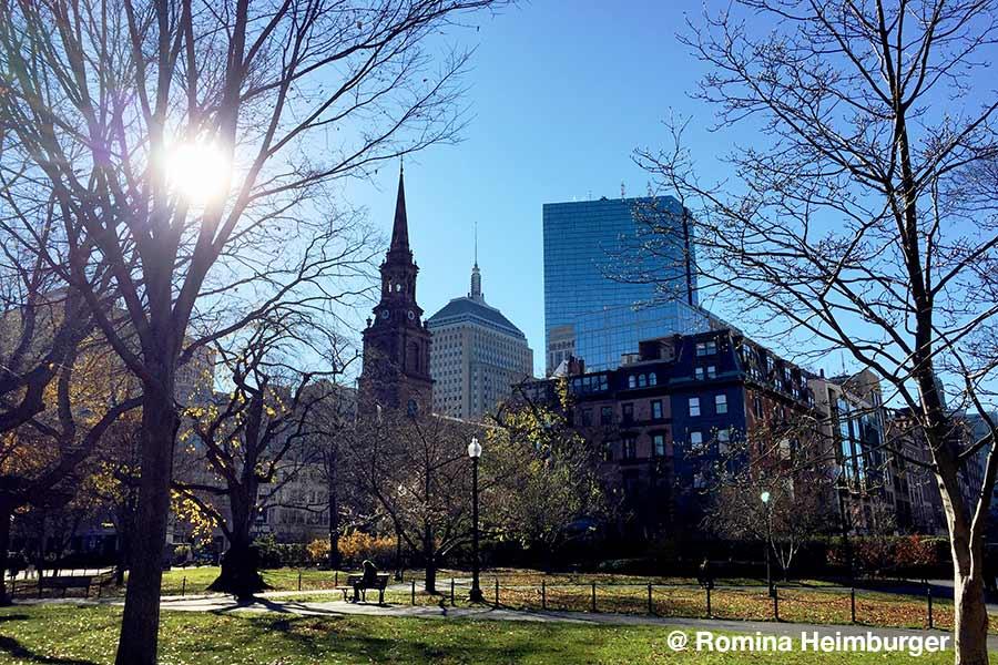 Boston, Massachusetts, Common, Stadtpark