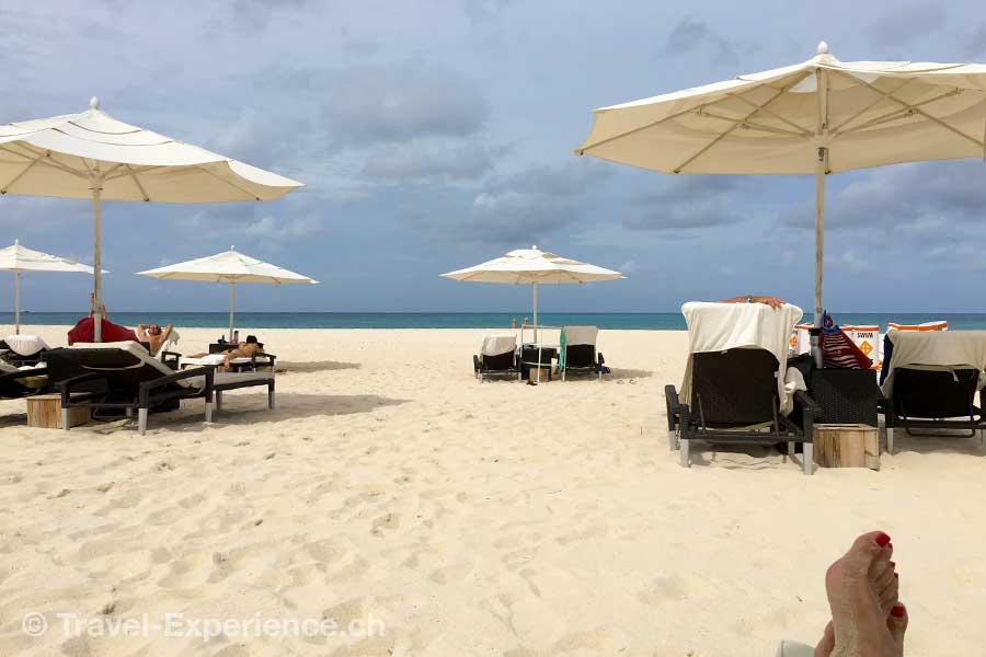 Karibik, Aruba, Bucuti Tara beach Resort, Strand