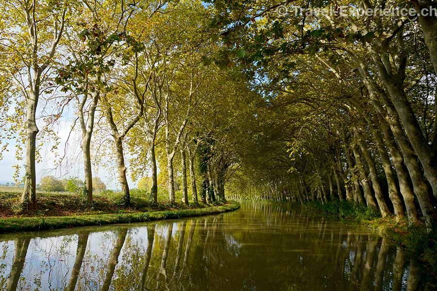 Frankreich, Canal du Midi, Pigasse