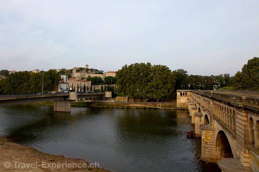 Frankreich, Canal du Midi, Beziers, Pont-Canal