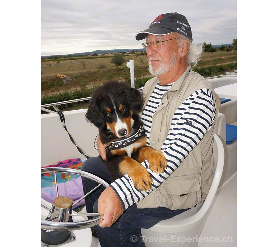 Frankreich, Canal du Midi, Hausboot, Jean Stalder, Marina Travel