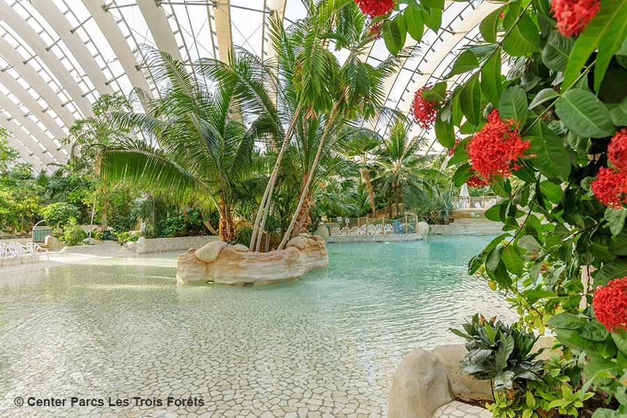 Frankreich, Lothringen, Hattigny, Center Parcs Les Trois Forets, Aqua Mundo