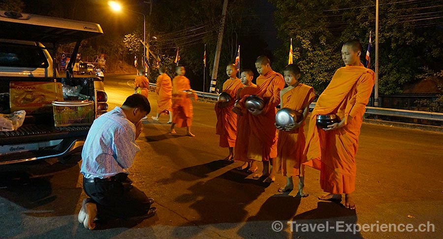 Thailand, Chiang Mai, Mönch, Wat Srisoda