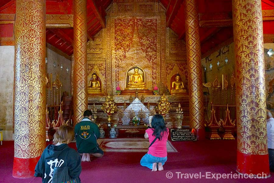 Thailand, Chiang Mai, Wat Phra Singh