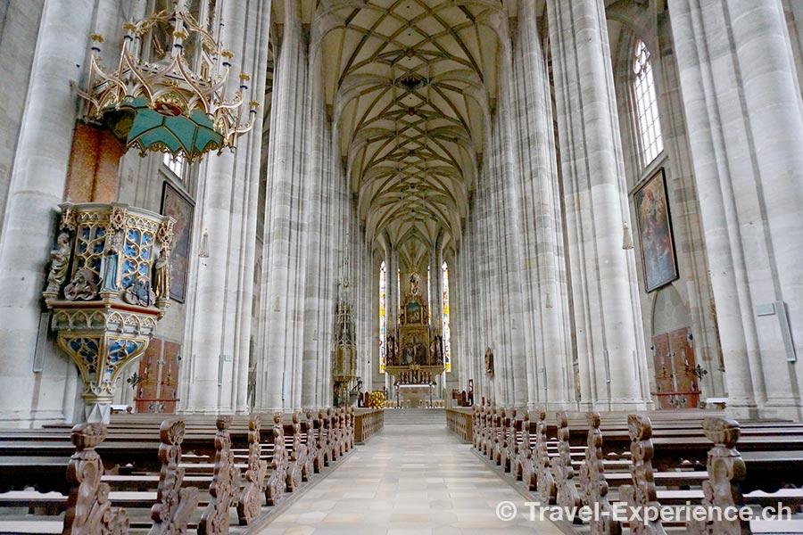 Franken, Dinkelsbühl, Münster St. Georg