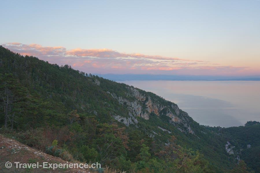 Kroatien, Kvarner Draga di Lovrana