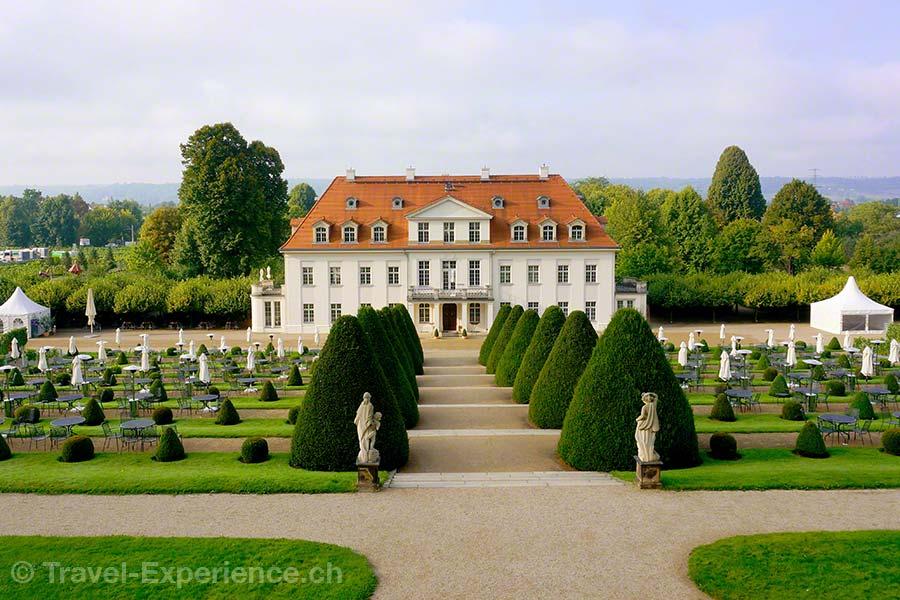 Radebeul, Schloss Wackerbarth, Wein, Sekt