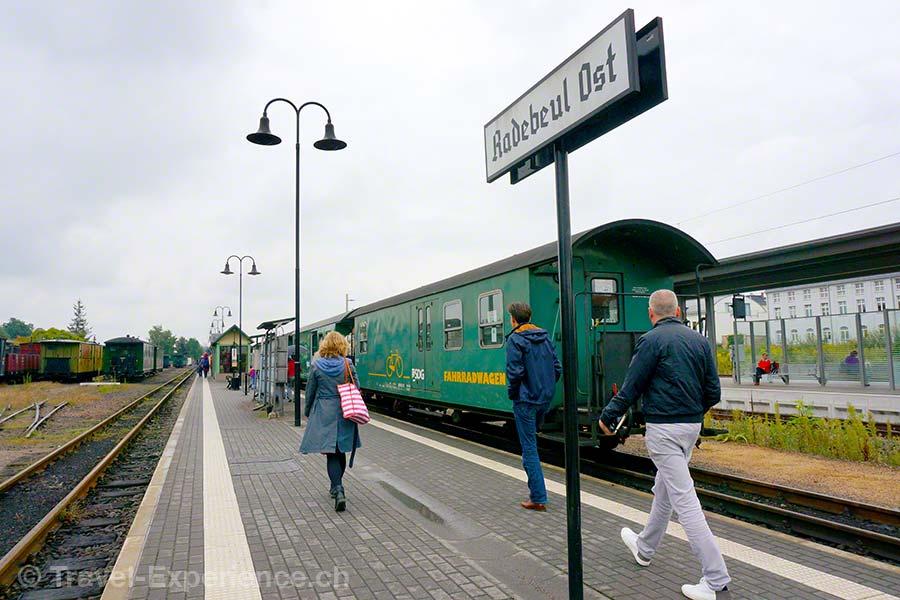 Dresden, Moritzburg, Radebeul, Loessnitzgrundbahn
