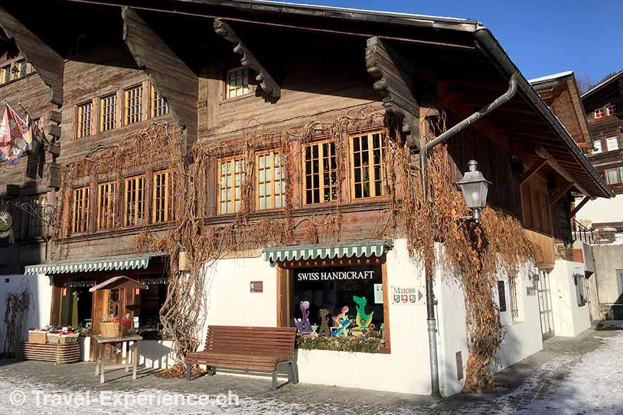 Saanen, Museum der Landschaft Saanen, Heimatmuseum, Chalet
