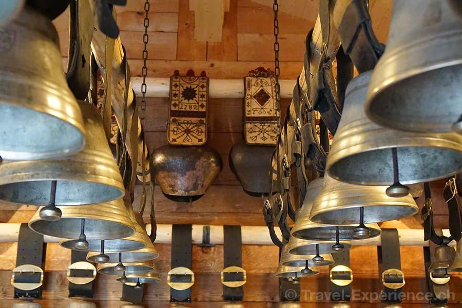 Saanen, Museum der Landschaft Saanen, Heimatmuseum, Glocken, Ausstellung