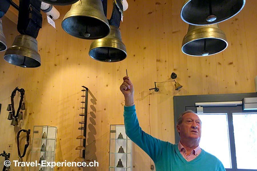 Saanen, Museum der Landschaft Saanen, Heimatmuseum, Glocken, Ausstellung, Hannes Moor