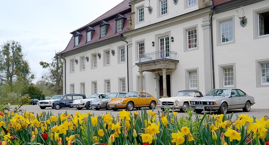 Oldtimer, Schlosshotel Friedrichsruhe, Zweiflingen
