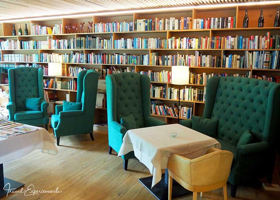 Hotel Fritsch am Berg, Lochau, Oesterreich, Bodensee, Bibliothek