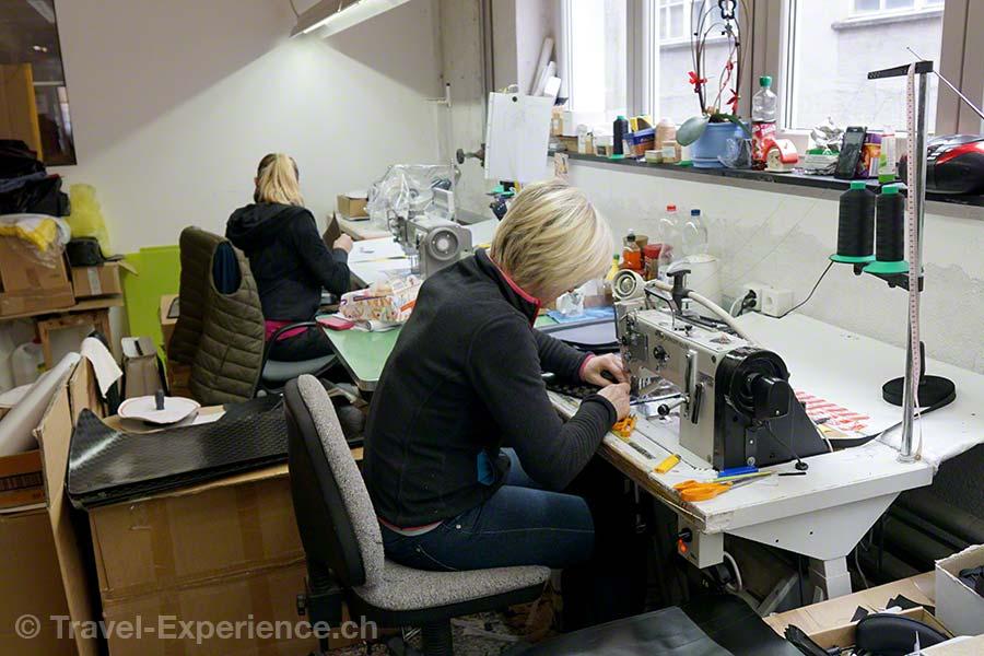 Glarus, Glarnerland, Industriespionage, Swiss Mountain Hand Bag, Engi, Naehatelier