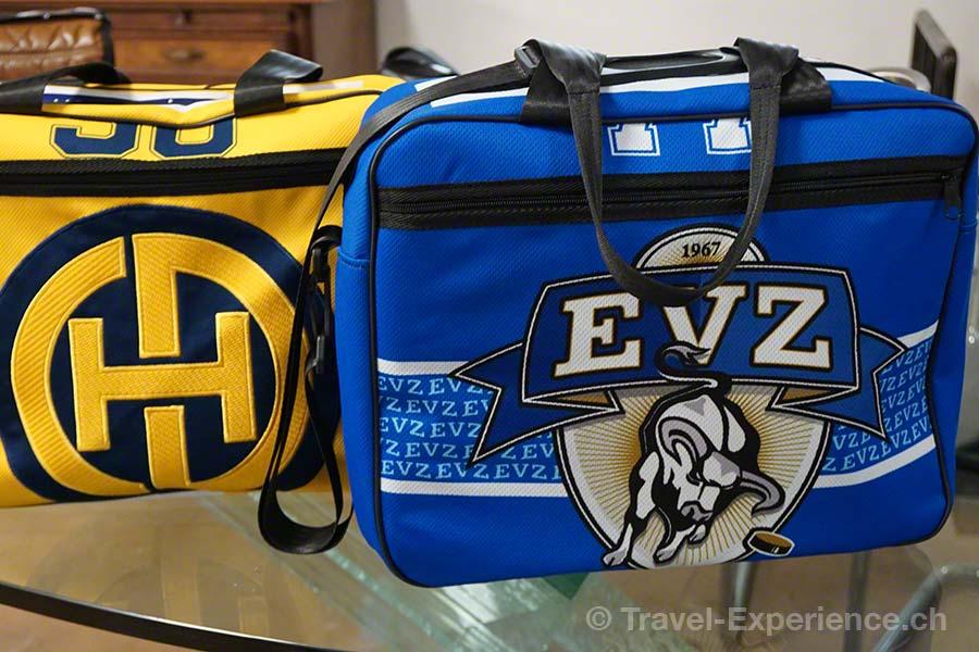 Glarus, Glarnerland, Industriespionage, Swiss Mountain Hand Bag, Engi, Taschen, Eishockey, HCD Davos, EVZ Zug