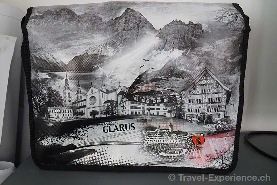 Glarus, Glarnerland, Industriespionage, Swiss Mountain Hand Bag, Engi, Tasche, Glarus