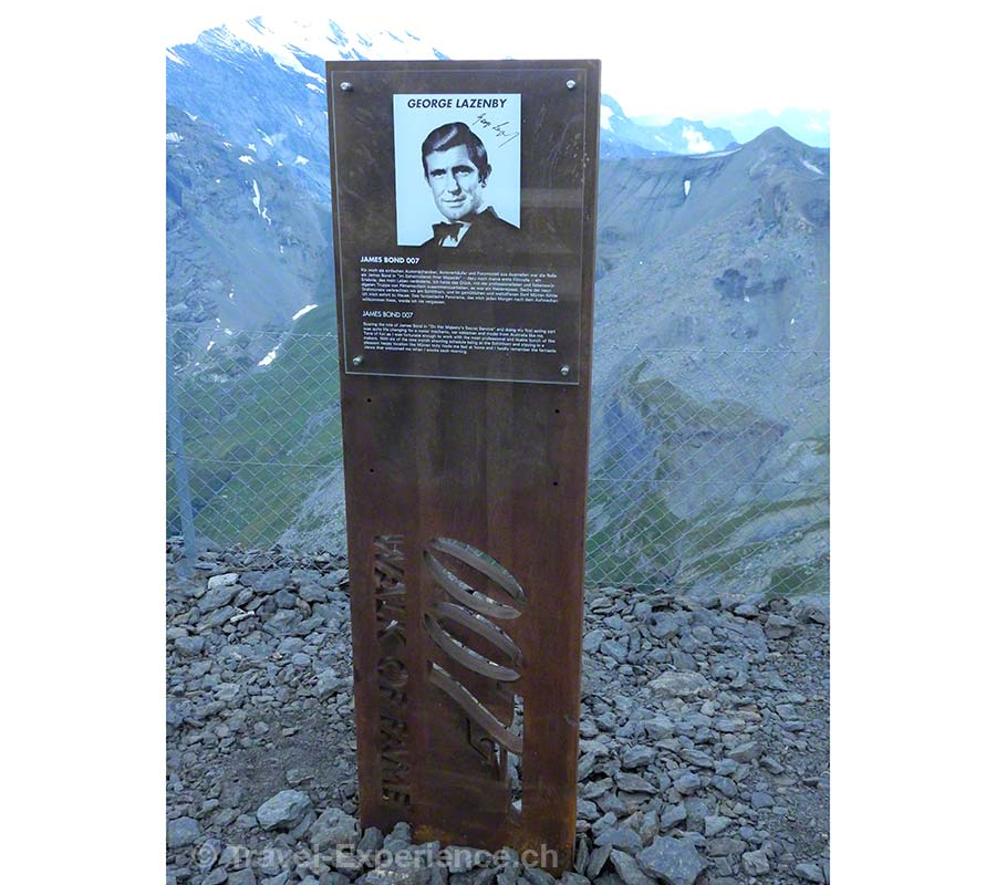 George Lazenby, 007 James Bond, Im Geheimdienst Ihrer Majestät, Schilthorn, Piz Gloria, 007 Walk of Fame