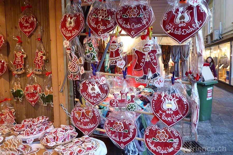 Österreich, Graz, Advent, Markt, Lebkuchen