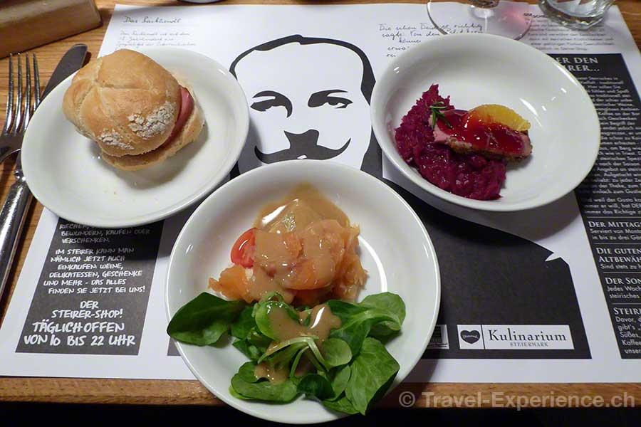 Österreich, Graz, Tappas, Der Steirer, Restaurant