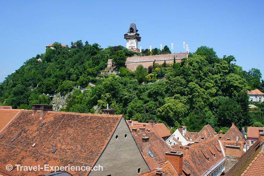 Graz, Schlossberg, Uhrturm