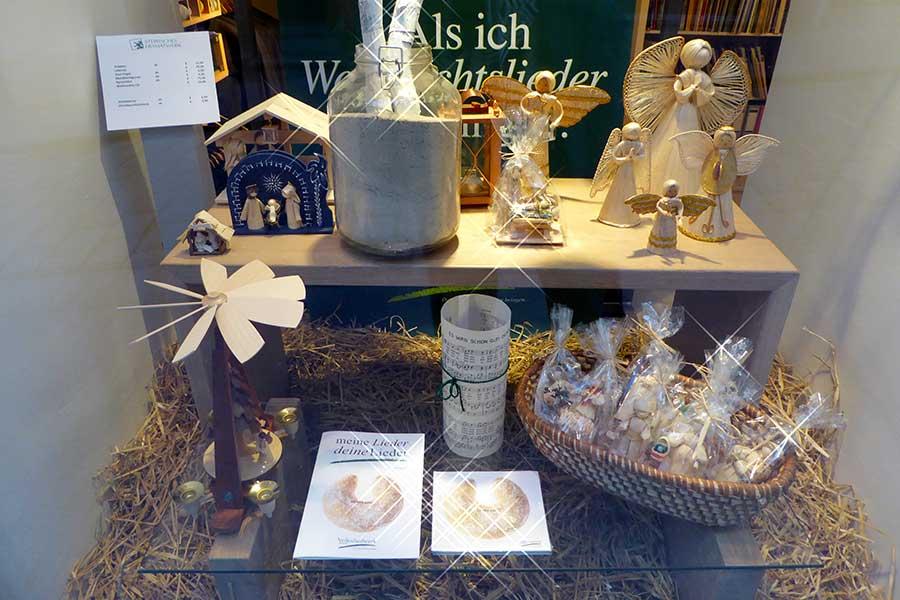 Österreich, Graz, Advent, Steirisches Heimatwerk, Schaufenster, Lieder, Weihnachten