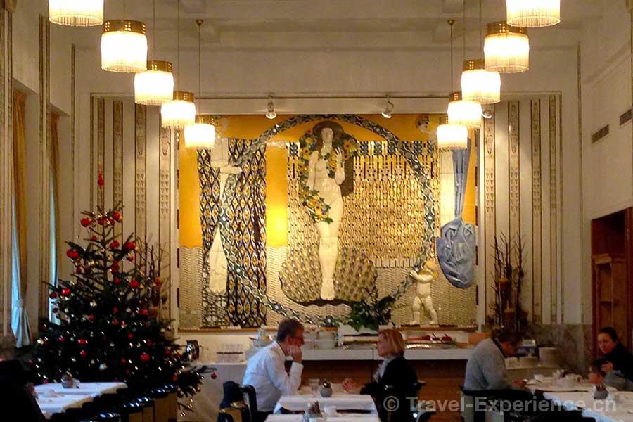 Österreich, Graz, Hotel Wiesler, Grand Cafe