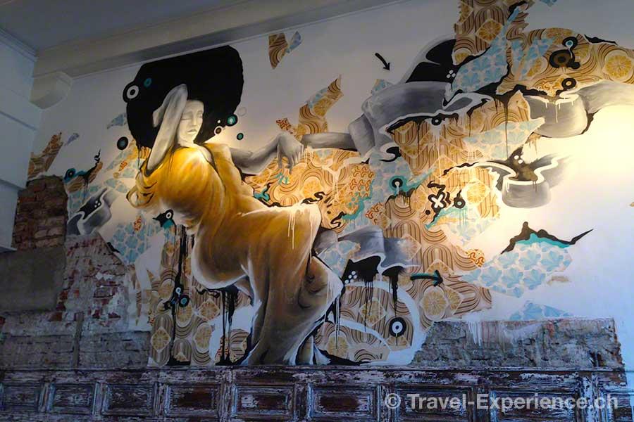 Österreich, Graz, Hotel Wiesler, Speisesaal