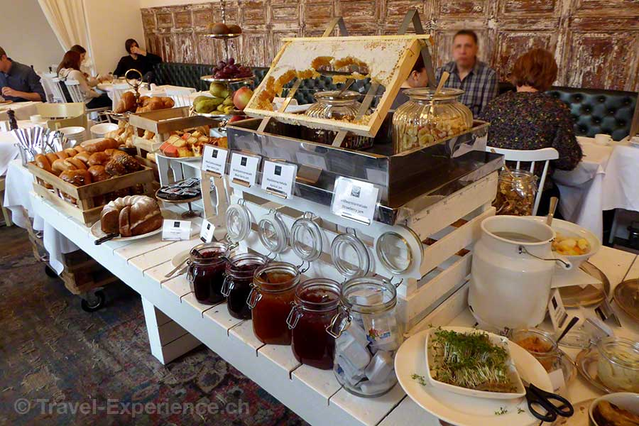 Österreich, Graz, Hotel Wiesler, Frühstück
