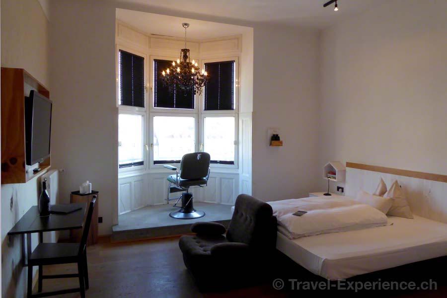 Österreich, Graz, Hotel Wiesler, Zimmer, Erker