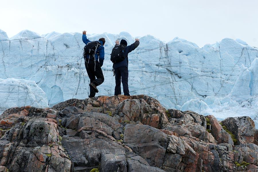 Groenland, Kangerlussuaq Gletscher