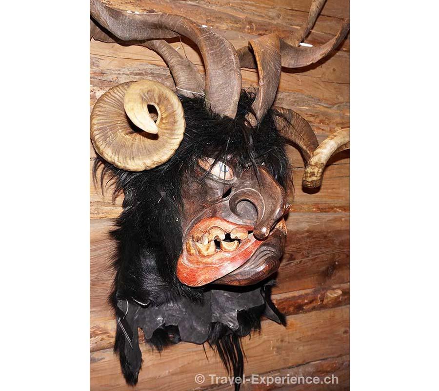 Grossarl, Krampusmaske