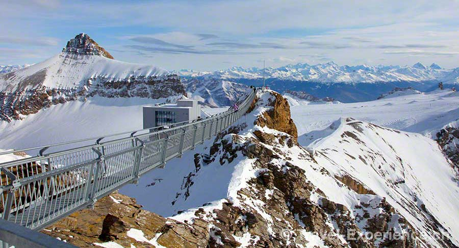 Gstaad, Col du Pillon, Glacier3000, PeakWalk by Tissot