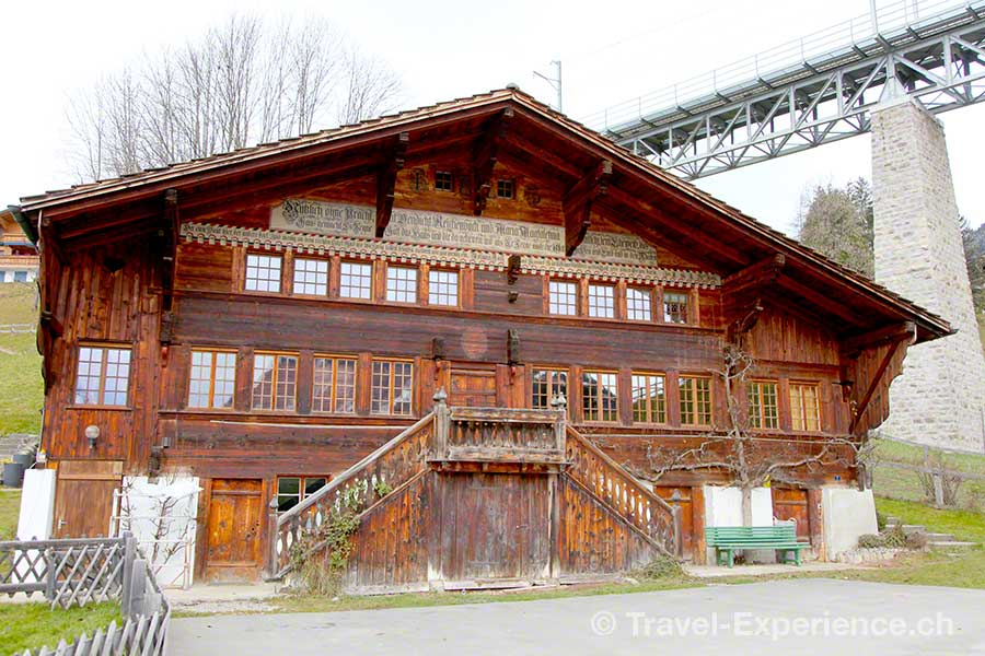 Gstaad, traditionelles Chalet