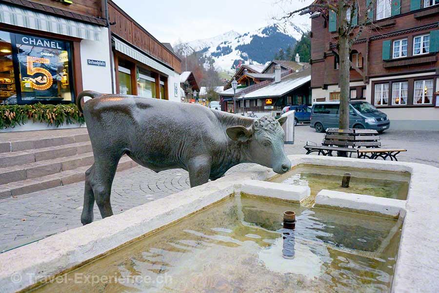 Gstaad, Brunnen, Rosie, Liz Taylor