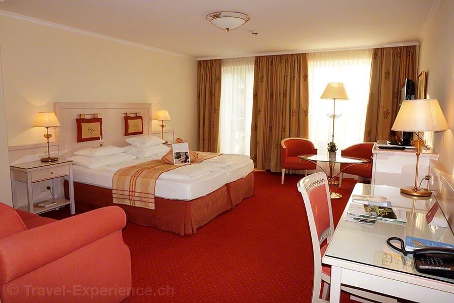 Steiermark, Bad Radkersburg, Hotel im Park, Zimmer