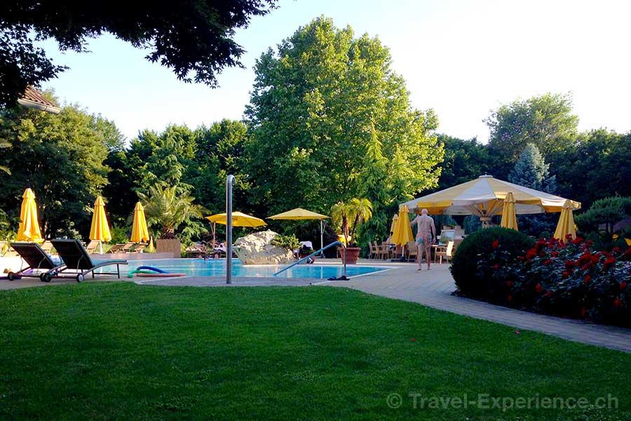 Steiermark, Bad Radkersburg, Hotel im Park, Garten, Pool